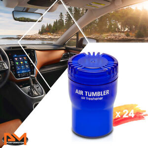 X24 Air Tumbler Car house Air Freshener Long Lasting Light Squash Scent 5 12 Oz