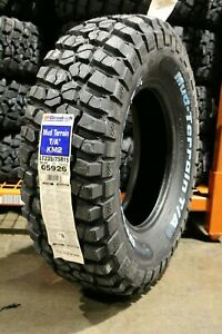 2 New Bf Goodrich Mud Terrain T A Km2 104q Tires Bfg 235 75 15 2357515 23575r15