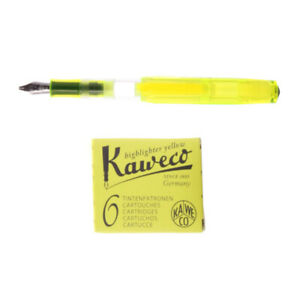 Kaweco Highlighter Set Neon Yellow 1 9