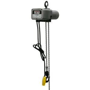 Jet 110100 Jsh 275 10 1 8 ton Electric Chain Hoist 1 phase 10 Lift