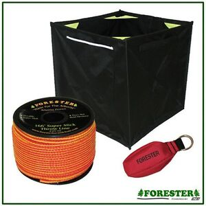 Throw Line Kit 3 Piece 166 Throw Line 14 Oz Throw Bag storage Cube arborist Kit