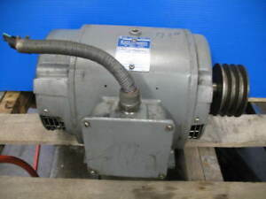 Clausing Colchester 8000 Series 13 X 40 Geared Head Lathe motor 230 460v 5hp