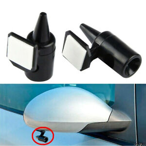 2x Ultrasonic Car Deer Animal Alert Warning Whistles Safety Sound Alarm Black Ec