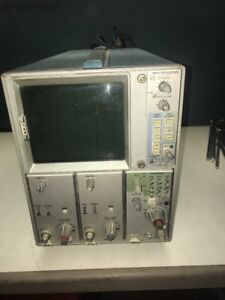 7603 Oscilliscope With 7a16a Amplifier And 7b50a Time Base Plug In