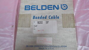 Flat Ribbon Cable New 22 Guage 15 Conductors Made By Belden 100 Foot Rolls