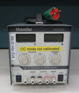 Precision Dc Power Supply Thander Brand Model Ts3021s Output 30 Volts 2amp