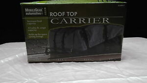 Roof Top Carrier Bag 12 Cubic Foot Cargo Capacity