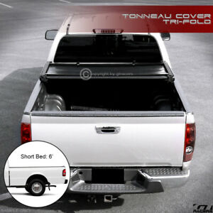 For 1983 2011 Ford Ranger 94 Mazda B series 6 Bed Tri fold Soft Tonneau Cover