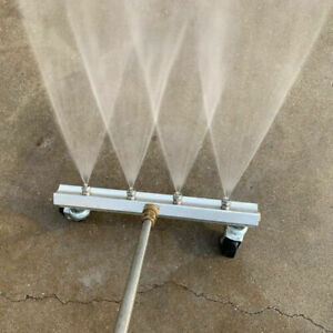 High Pressure Washer Undercarriage Cleaner Under Car Wash 4 Nozzle 30 X 14 X 5cm