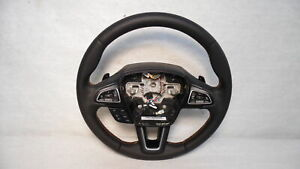 2018 Ford Ecosport Leather Steering Wheel Heated W Controls Paddle Shift Oem