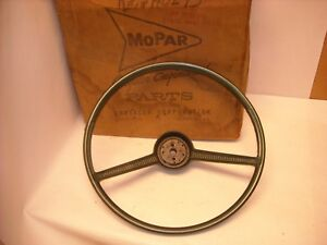 Mopar Nos 1962 1963 Plymouth Valiant Lancer Dodge Dart Steering Wheel 2266216