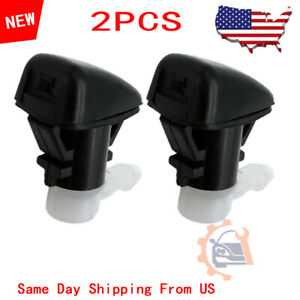 2pcs Oem For 11 19 Dodge Durango Right Left Side Windshield Washer Nozzle New