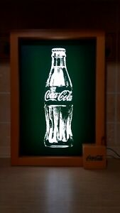 Coca Cola Light Up Sign Vending Machine Front Light Advertising Wall hanging