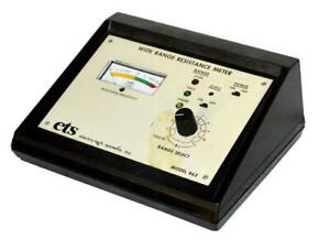 Ets Electro tech Systems 862 Wide Range Resistance Meter