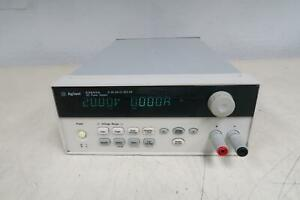 Agilent E3644a Bench Power Supply Programmable 1 Output 0v 20v 4a 8a T135963