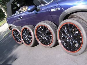 Mini Cooper Wheels tires Jcw John Cooper Works