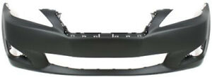 Primed Front Bumper Cover Replacement For 2009 2010 Lexus Is250 Is350