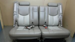 Chevrolet Gmc Tahoe Yukon Escalade 3rd Row Seat Tan Denali Leather 00 06