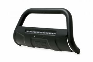 Rough Country Black Bull Bar W Led fits 2005 2015 Toyota Tacoma Push Bar
