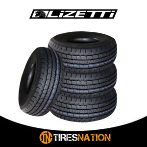 4 New Lizetti Lz Hst P225 75r16 104t High Quality All Season Truck Tires