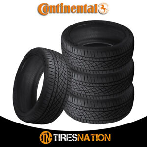 4 New Continental Extremecontact Dws06 225 50zr17 94w Tires