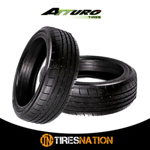 2 New Atturo Az850 275 40zr20 106y Performance Suv Tires