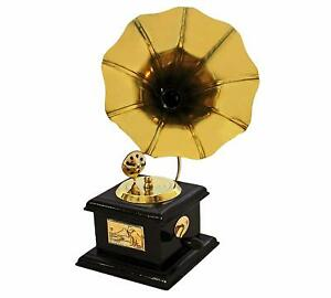 Handmade Vintage Dummy Gramophone Showpiece Only For Home D Cor