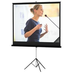 Da lite 72262 60x60 Versatol Tripod Portable Projection Screen