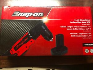 Snap On Tools Cdrr761wb Cordless Right Angle Drill W Battery