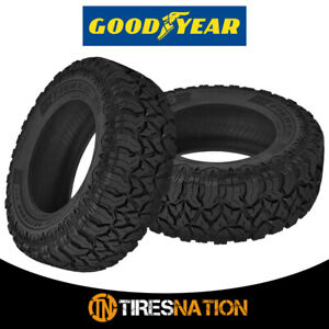 2 Goodyear Fierce Attitude M T Lt275 70r18 125p E All Season Mud Tires
