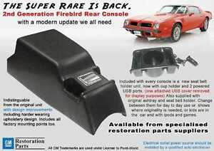 Trans Am Rear Console 71 77 Gm Restoration Approved Part