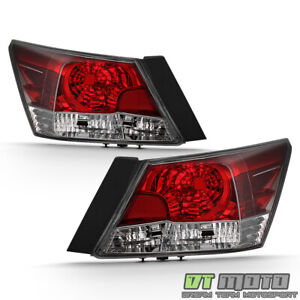 For 2008 2012 Honda Accord Sedan Tail Lights Brake Lamps Replacement Left Right