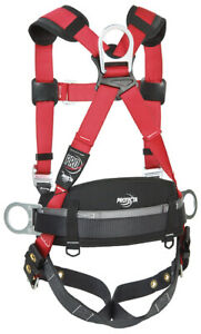 Protecta 1191431 Pro Fall Arrest Kit With Back D ring Harness Size Xl