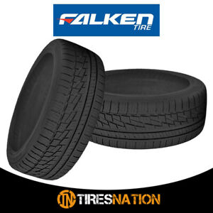 2 New Falken Ziex Ze 950 A s 195 50r15 82h Blk All Season Performance Tires