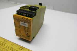 Pilz 777586 Pze X4vp4 24vdc 4n o Safety Relay Module