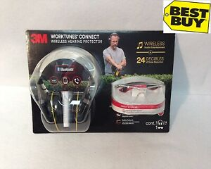 3m Worktunes Connect Wireless Hearing Protector Safety Eyewear New