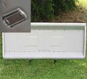 Tailgate Chevy 1947 1953 Embossed Bowtie Stainless Chevrolet Stepside Truck