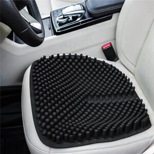 Car Seat Cushion Chair Pad Breathable Silicone Massage Seat For Office Home A8f0