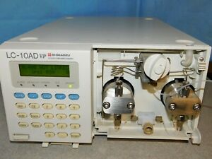 Shimadzu Lc 10ad Vp Hplc Pump Liquid Chromatograph With Remote Cable