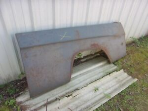 1970 1971 Dodge Truck D W 100 200 Sweptline Nos Mopar Left 6 Outer Bed Panel