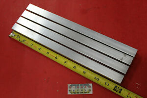 4 Pieces 3 4 x 3 4 x 1 8 Wall X 12 Long Aluminum Square Tube 6063 T52 5 Id