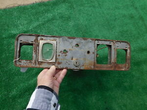 1931 Oldsmobile Dash Gauge Cluster Housing With Ignition Coil 31 Olds