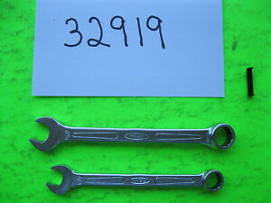 2 Bonney Open Box Wrenches 7 16 3 8 Usa