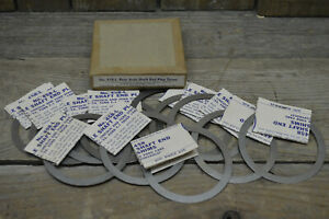 12 Usa Nos 1948 57 Ford Chevy Lincoln Mercury Rear End Axle Shims Vtg Old Truck