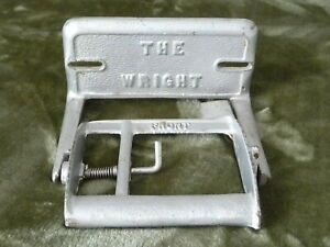 Antique Cast Iron Bathroom Water Closet Spring Toilet Paper Holder The Wright