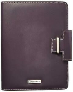 Day Runner 4010214 Terramo Refillable Planner 5 1 2 X 8 1 2 Eggplant