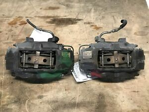 11 14 Ford Mustang Gt Front Pair Of 4 Piston Brembo Brake Calipers 51k Oem