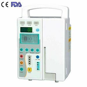 Fda Medical Infusion Pump Iv Fluid Pump With Voice And Visual Alarm Human Use