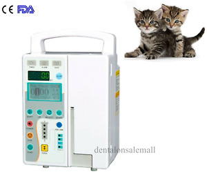 Fda Medical Infusion Pump Iv Fluid Pump With Voice And Visual Alarm Animal Use
