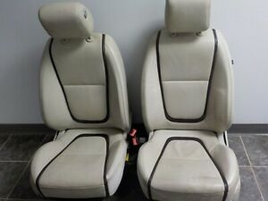 13 14 15 Jaguar Xf Front Pair Leather Electric Seats W Airbags Air Bags Oem Lkq